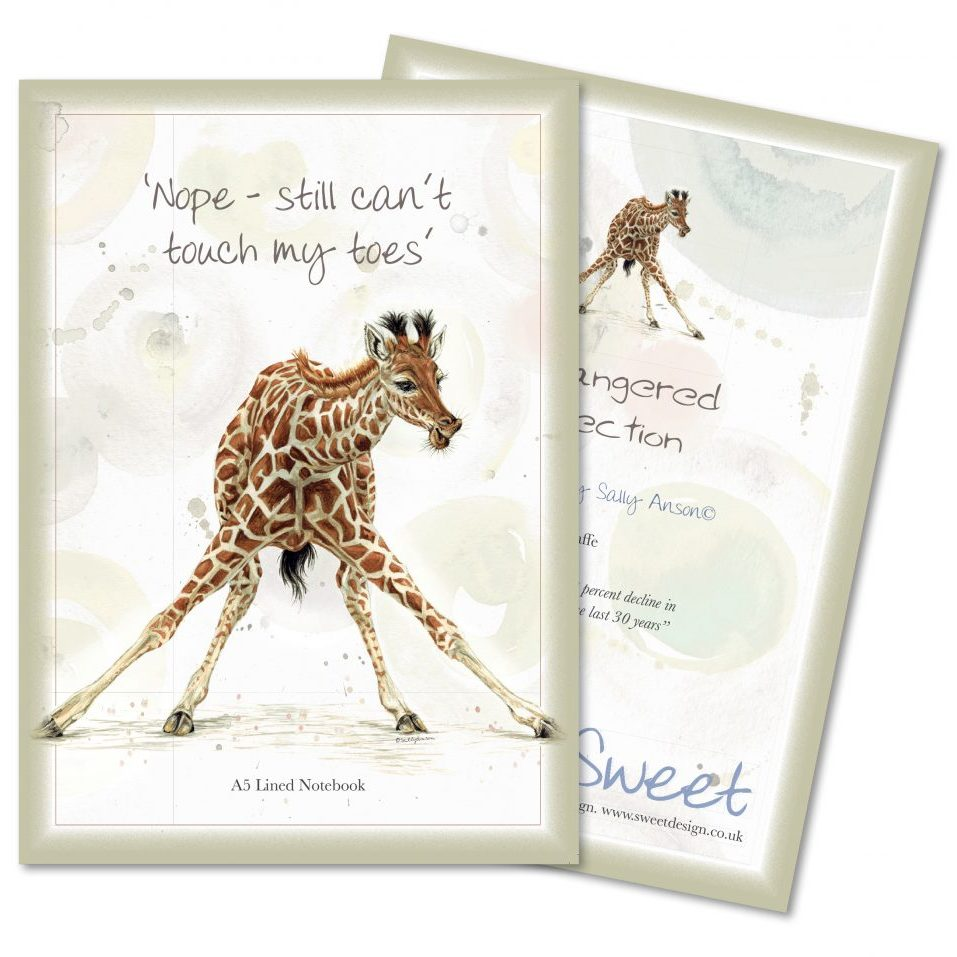 A5Notebook-Giraffe