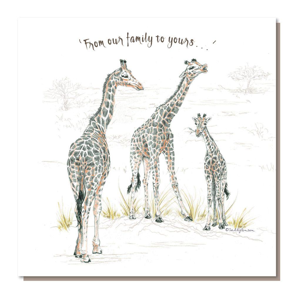 BES09a3 - Giraffe Family