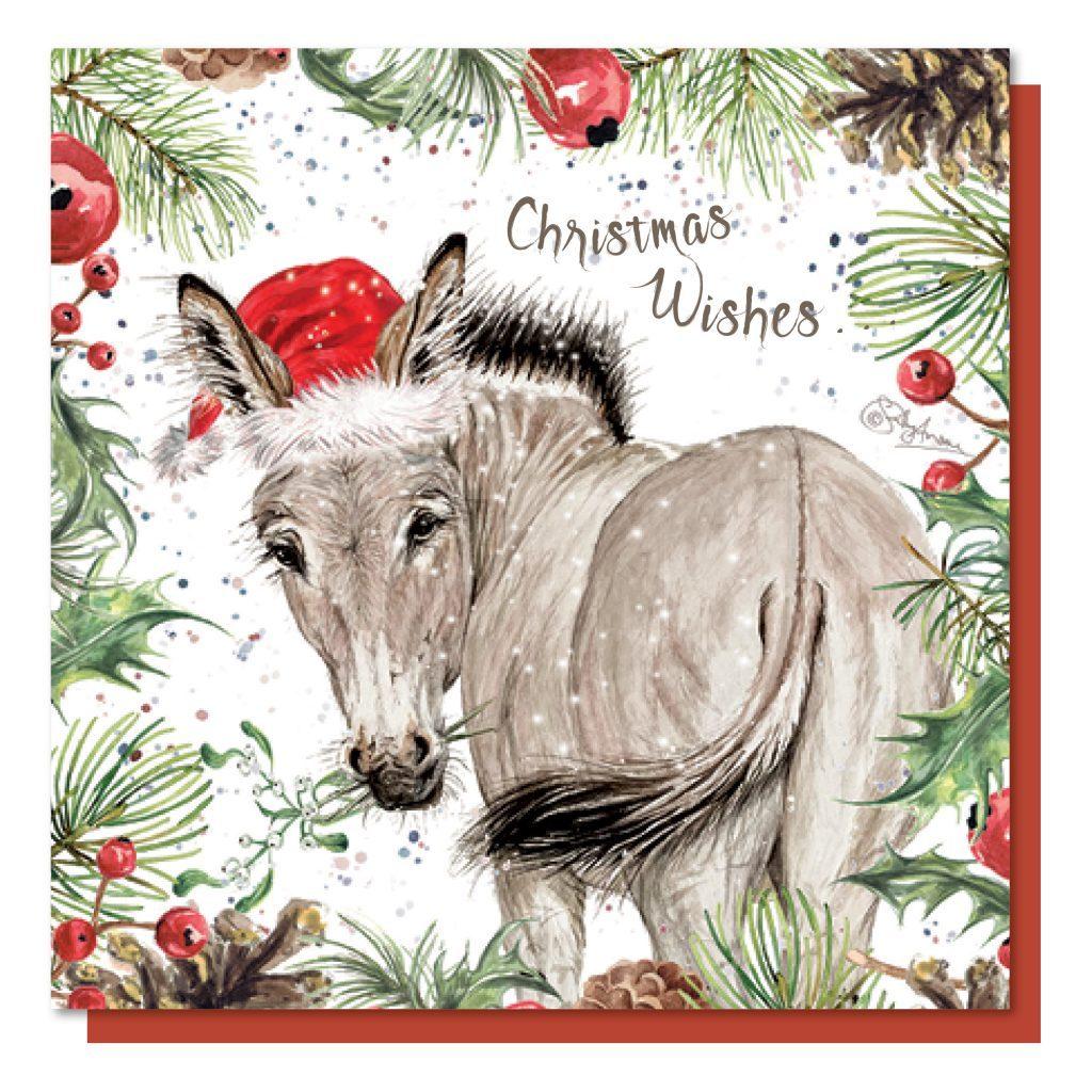 CBX052-Christmas Donkey