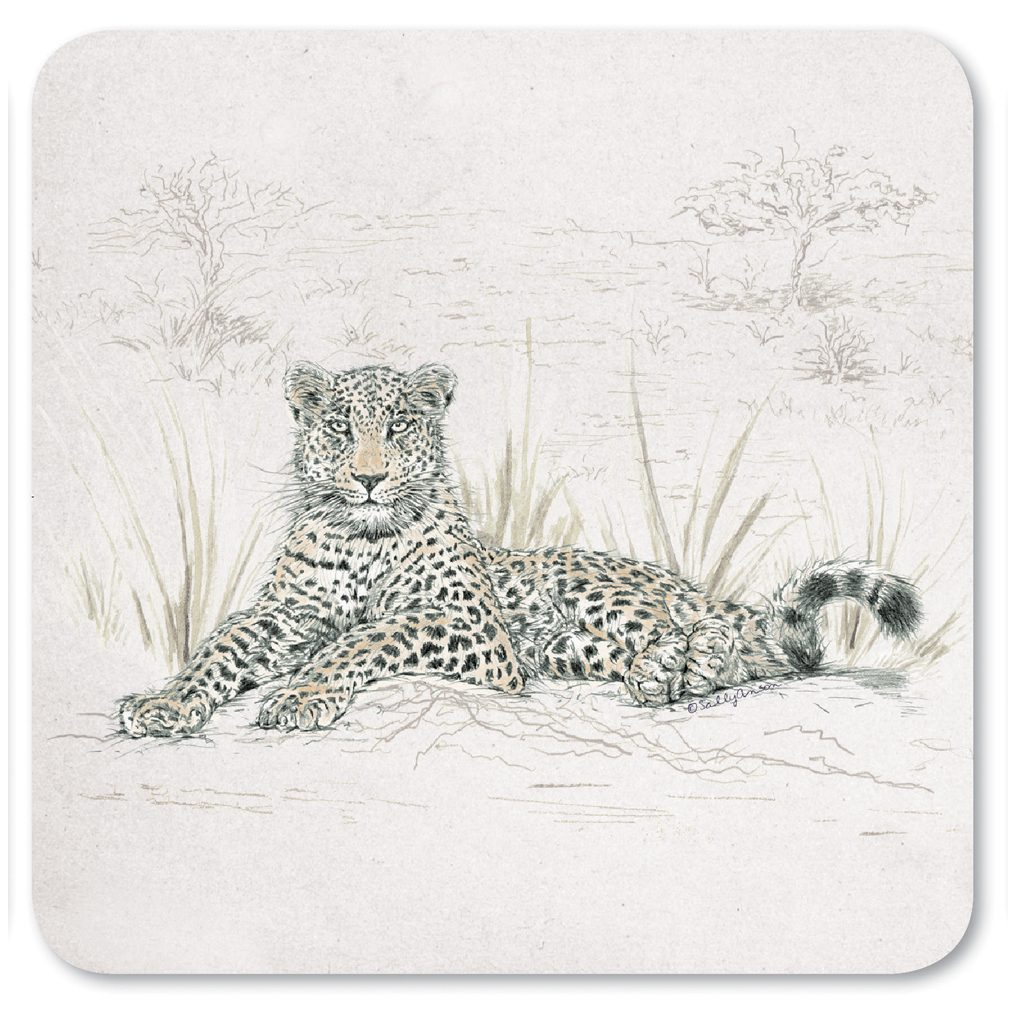 COASAV08-Leopard Coaster