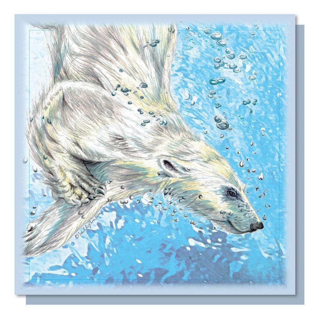 SEW009 - Polar Bear Diving