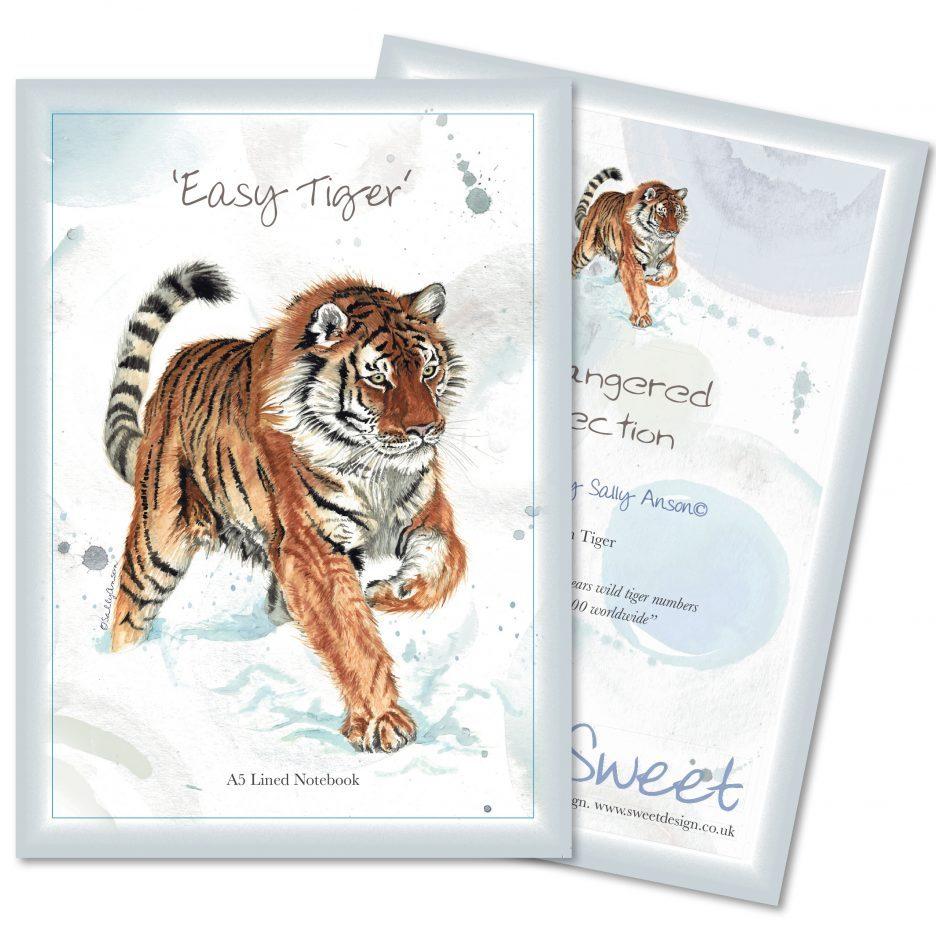 A5Notebook-Tiger
