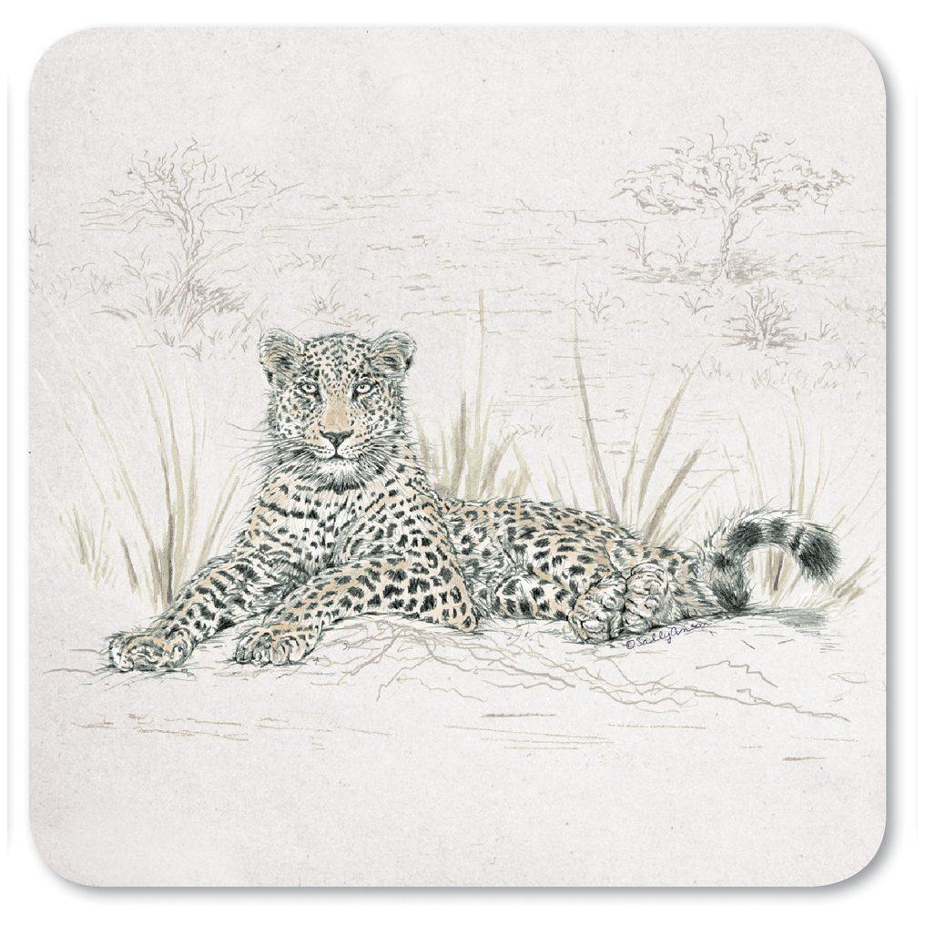 COASAV08-Leopard Coaster
