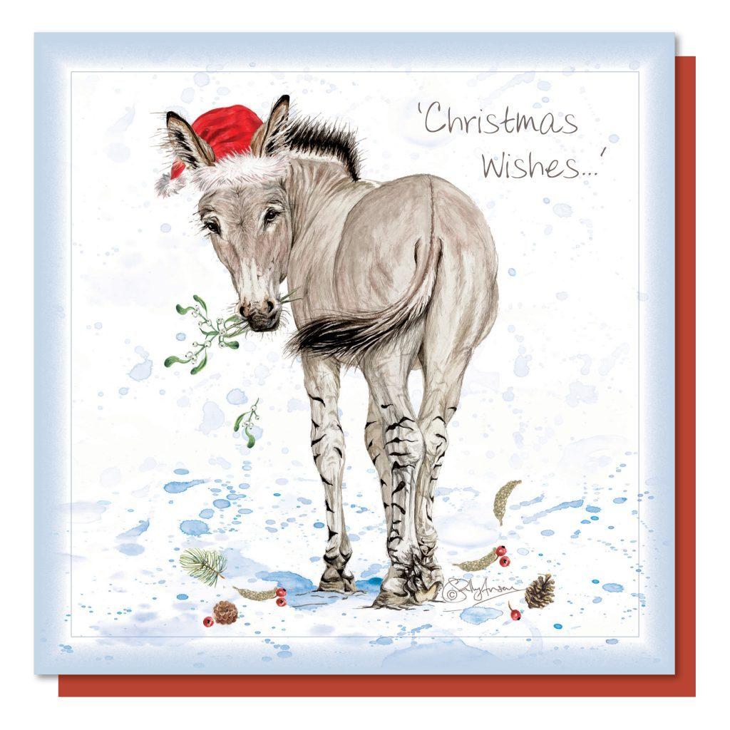 ECX052-Christmas Donkey
