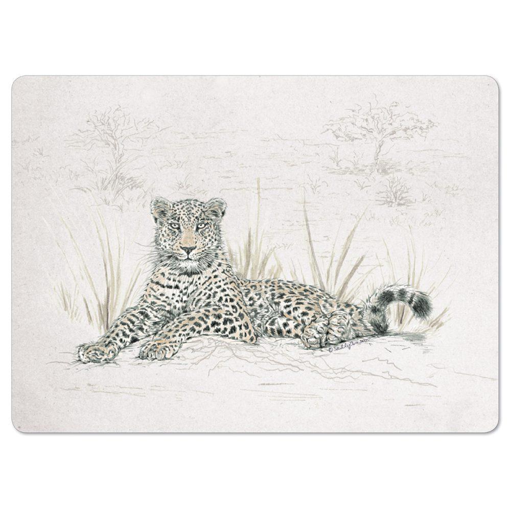 PMSAV08-Leopard Placemat
