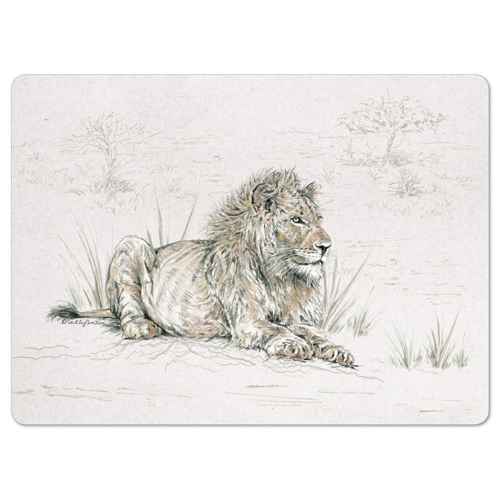 PMSAV29-LionPlacemat