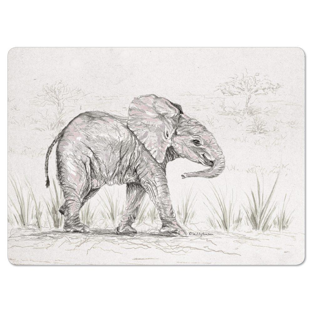 PMSAV33-ElephantPlacemat