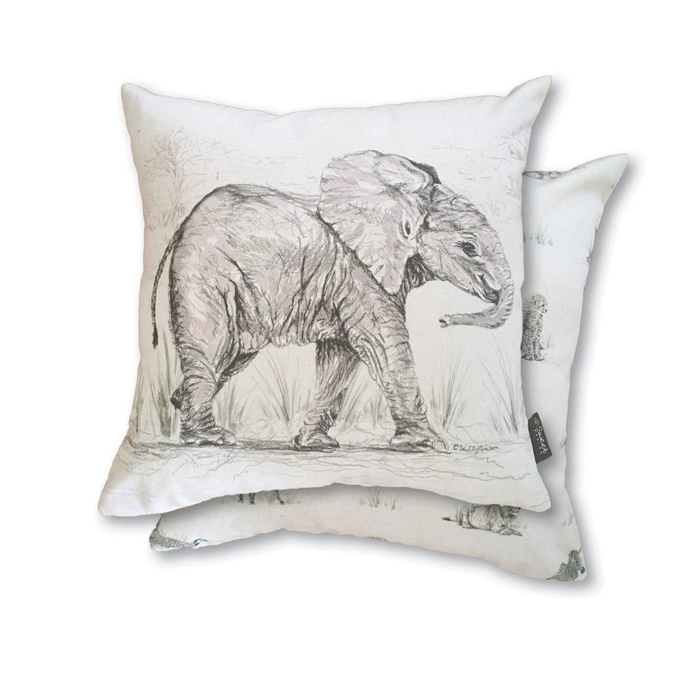 SAVCUS4 - Elephant & Savannah